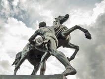 Het tammere Paard, ontworpen door Peter Klodt Royalty-vrije Stock Afbeelding