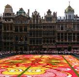 Het tapijt van de bloem Royalty-vrije Stock Foto's