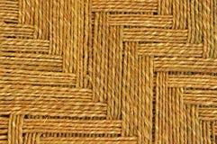 Het tapijt van de jute Stock Afbeelding