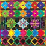 Het tapijt van Ethno Royalty-vrije Stock Foto