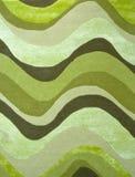 Het tapijttextuur van golven Stock Afbeeldingen