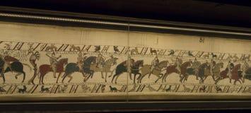 Het tapijtwerk van Bayeux royalty-vrije stock foto