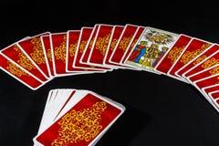 Het Tarot van Marseille - de Minnaars Stock Foto's