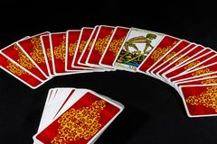 Het Tarot van Marseille - Dood Royalty-vrije Stock Afbeelding