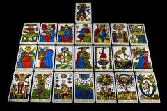 Het Tarot van Marseille - Major Arcana Stock Fotografie