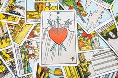 Het Tarot van tarotkaarten Royalty-vrije Stock Foto