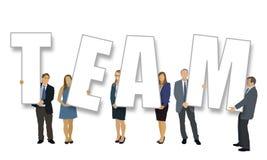 Het team Stock Afbeelding