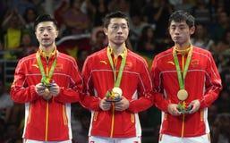 Het team Olympische Kampioen van China in Rio 2016 royalty-vrije stock foto