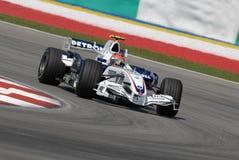 Het Team Robert Kubi van BMW Sauber F1 Stock Foto