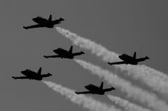Het Team van Breitling bij de Lucht van Red Bull toont Stock Fotografie