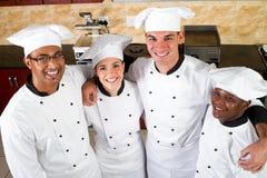 Het team van de chef-kok Royalty-vrije Stock Afbeeldingen