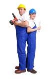 Het team van de dienst stock fotografie