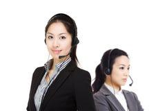 Het team van de klantendiensten Stock Foto