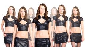 Het team van de kloon stock afbeelding