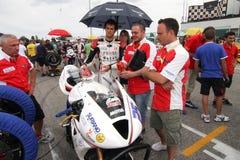 Het team van de Macht van het net door Suriano Triumph Daytona Royalty-vrije Stock Afbeelding