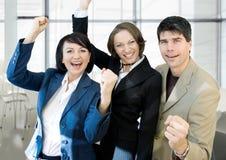 Het team van de overwinning royalty-vrije stock afbeelding