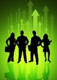 Het Team van de Richting van de energie Royalty-vrije Stock Foto