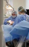 Het team van de tandarts op het werk royalty-vrije stock afbeelding