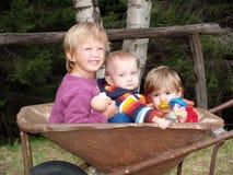 Het team van de tuin Stock Foto's