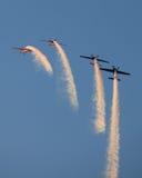 Het team van de Vertoning van Aerobatic van bladen Royalty-vrije Stock Afbeelding