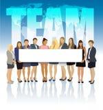 Het team van de vrouwen Stock Afbeelding