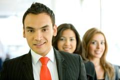 Het team van het bureau Royalty-vrije Stock Foto