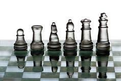 Het team van het schaak Royalty-vrije Stock Afbeeldingen