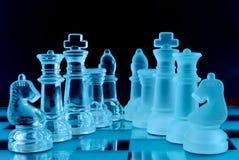 Het team van het schaak Stock Foto