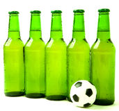 Het team van het voetbal Stock Afbeelding
