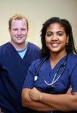 Het Team van het ziekenhuis Stock Afbeeldingen