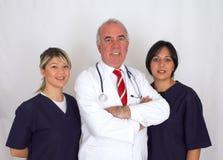 Het team van het ziekenhuis Stock Foto's