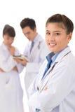 Het team van het ziekenhuis Royalty-vrije Stock Fotografie