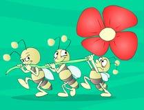 Het Team van insecten Royalty-vrije Stock Afbeeldingen