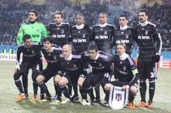Het team van Istanboel van Besiktas stock fotografie