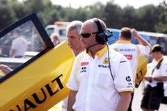Het Team van Renault F1 Stock Afbeelding