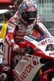 Het team van Xerox van Haga Ducati 1998 van Noriyuki Royalty-vrije Stock Foto's