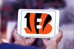 Het teamembleem van de Cincinnati Bengals Amerikaans voetbal Stock Foto