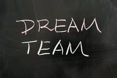 Het team van de droom Stock Afbeeldingen
