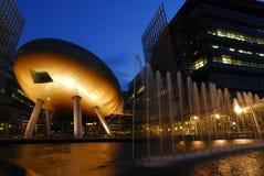 Het technologiepark van de Wetenschap en van het van HK
