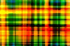 Het tegenover elkaar stellende oranje licht is een abstracte achtergrond Stock Afbeeldingen