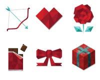 Het teken en het symbool van Valentine Royalty-vrije Stock Afbeelding