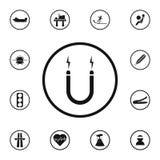 het teken is gevaarlijk gemaniëreerd pictogram Gedetailleerde reeks Waarschuwingsbordenpictogrammen Grafisch het ontwerpteken van royalty-vrije illustratie