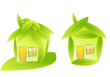 Het teken/het pictogram van het huis Stock Foto's