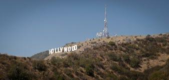 Het Teken Los Angeles Californië van Hollywood Royalty-vrije Stock Foto's