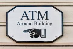 Het teken van ATM Stock Afbeeldingen