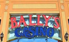 Het Teken van het Bally` s Casino Royalty-vrije Stock Afbeelding
