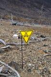 Het teken van Biohazard stock foto