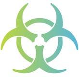 Het teken van Biohazard Stock Foto's