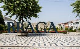 Het teken van Braga Royalty-vrije Stock Afbeeldingen