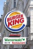 Het teken van Burger King Royalty-vrije Stock Foto's